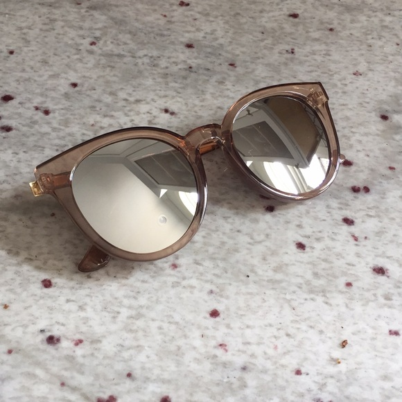 c6e21954362d Accessories - Brand New Mirrored Frame Cat Eye Sunglasses